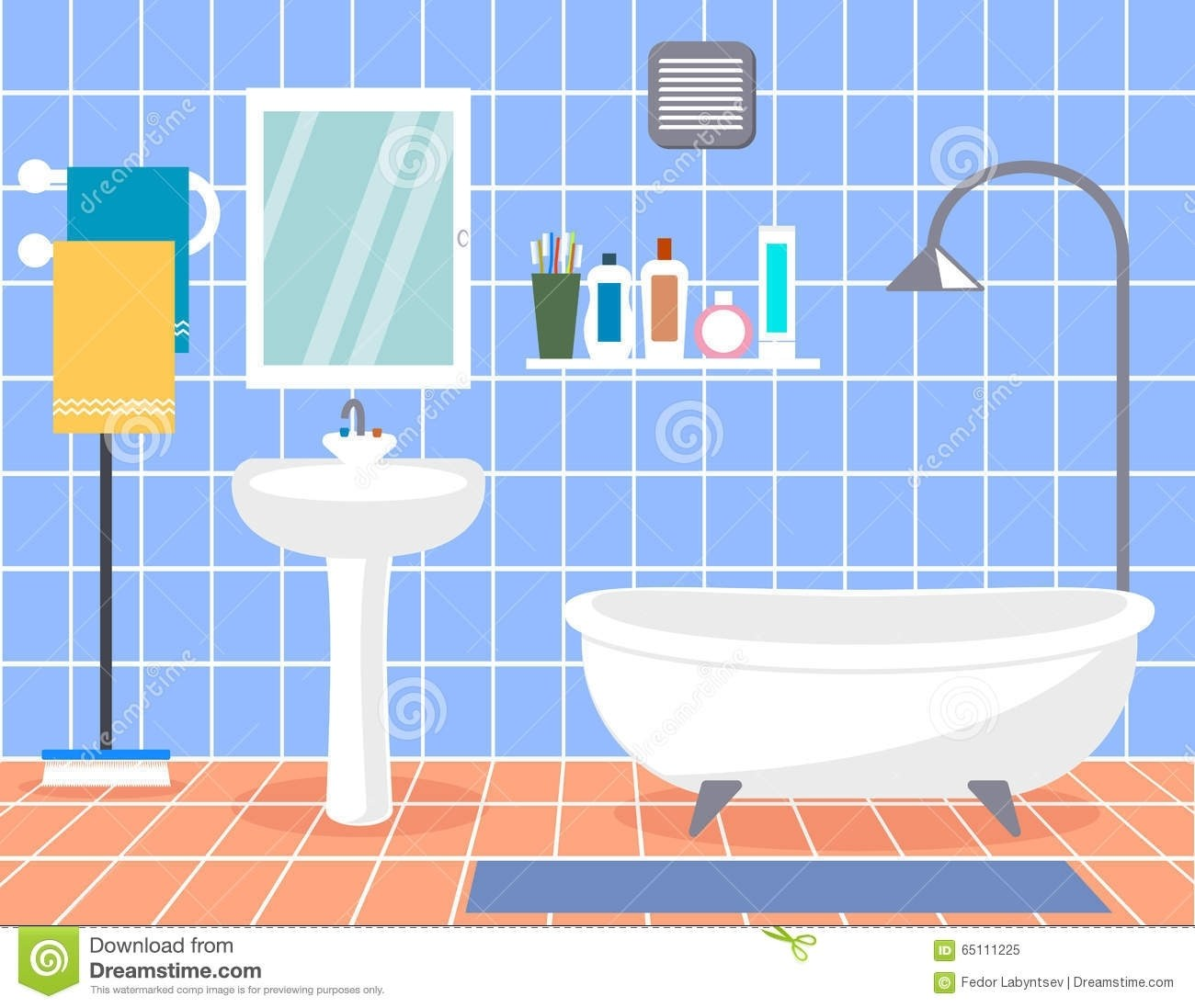 Best interior home design. Bathroom clipart modern bathroom