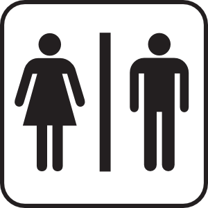 Men women clip art. Clipart bathroom modern bathroom