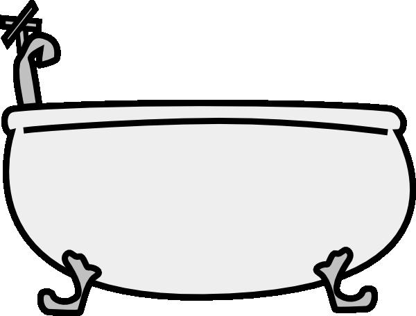 Bathtub clipart. Tub clip art at