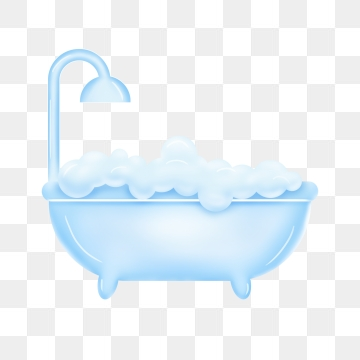 Bathtub clipart. Png vector psd and