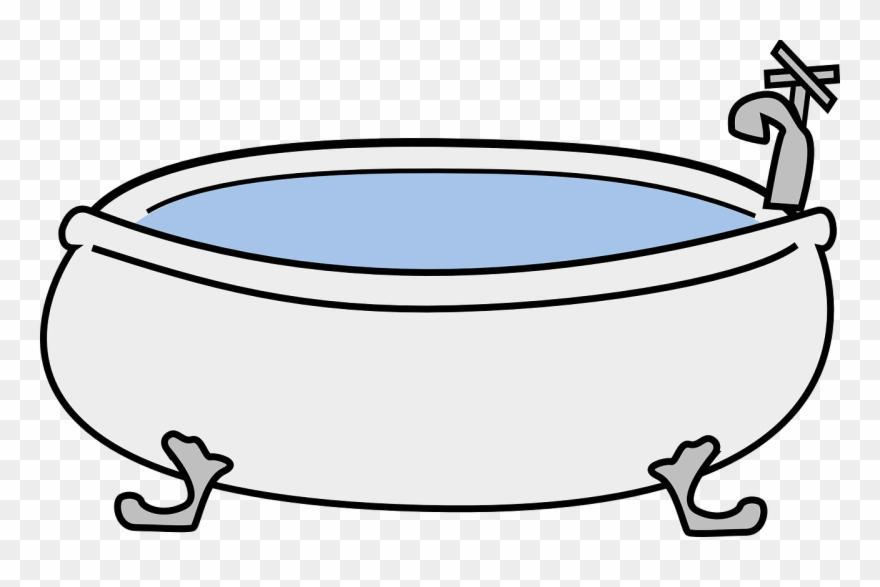 Bathtub clipart. Bathroom hot tub download