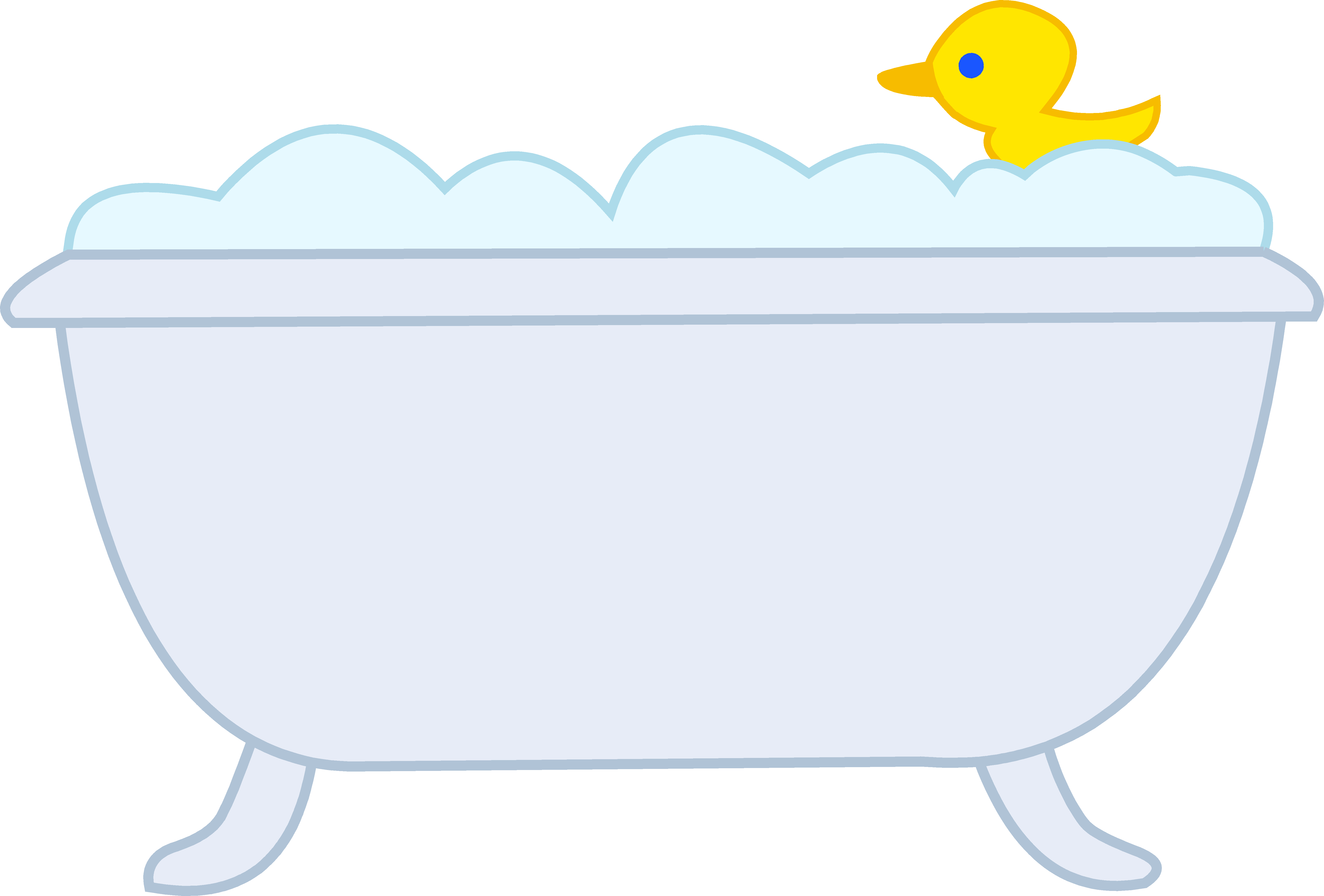 Old fashioned bathtub ideas. Exercising clipart simple