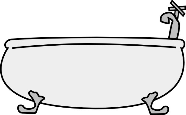 Bathtub clipart capacity. The mind s david