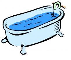 Bathtub clipart cold bath. Superior tub amazing pictures