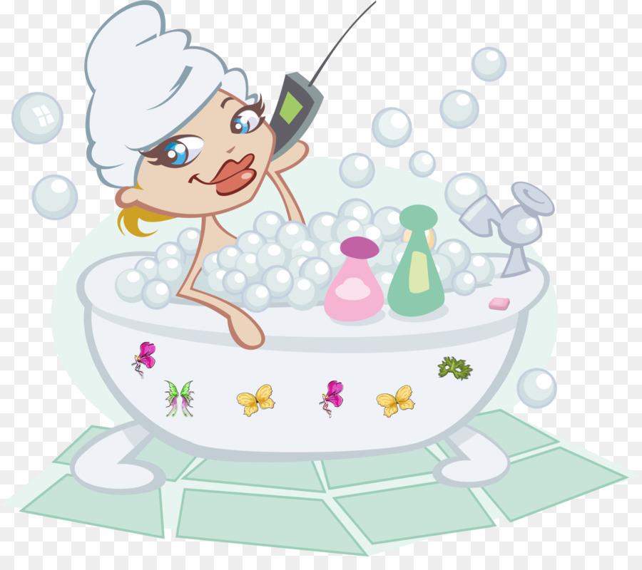 Bath clipart bathtub. Bubble bathing clip art