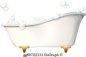 Bubble clip art royalty. Bathtub clipart foam bath