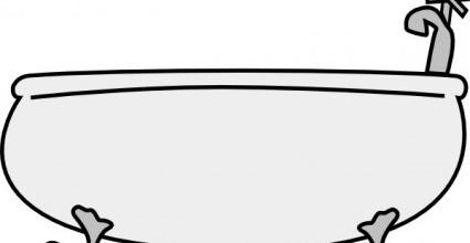 Bathtub clipart tina. Clip art