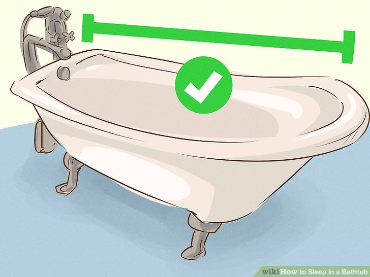 Bathtub clipart tina. How to sleep in