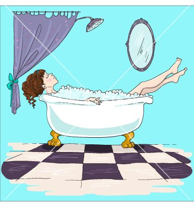 best bathtubs images. Bathtub clipart warm bath