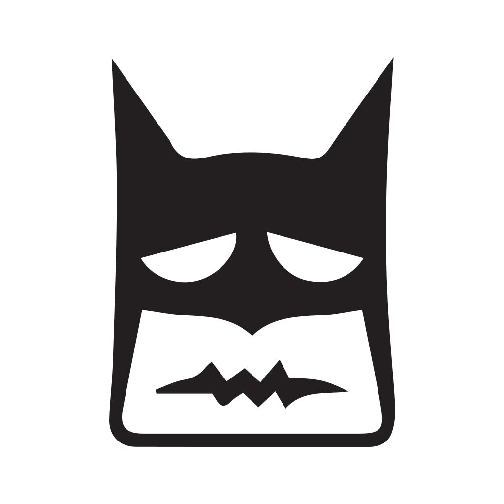 Confounded decal level graphics. Batman clipart batman face