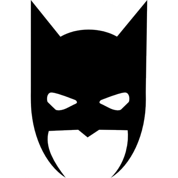 Batman clipart batman face. Head cover icons free