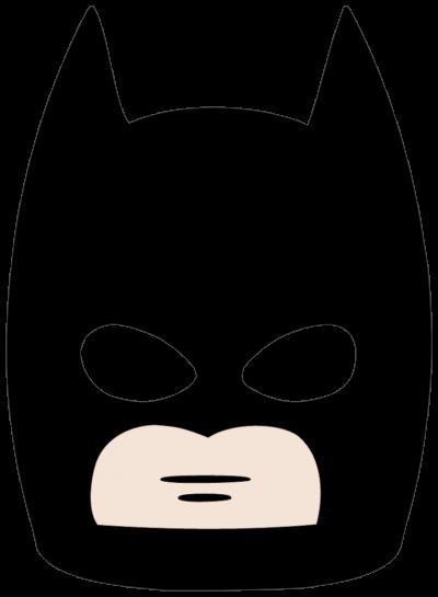 Batman clipart batman face. Download mask free png