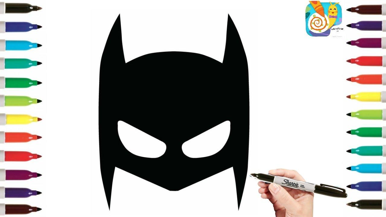 Mask drawing at getdrawings. Batman clipart batman face