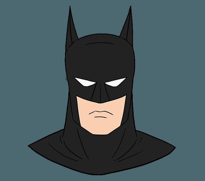 How to draw joker. Batman clipart batman face