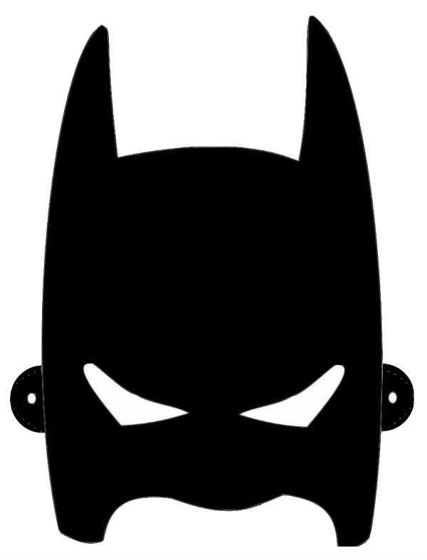 collection of mask. Batman clipart batman head
