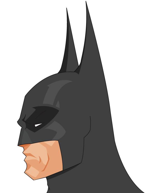 By mr frisky on. Batman clipart batman head