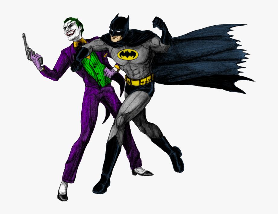 Png image cartoon and. Batman clipart batman joker