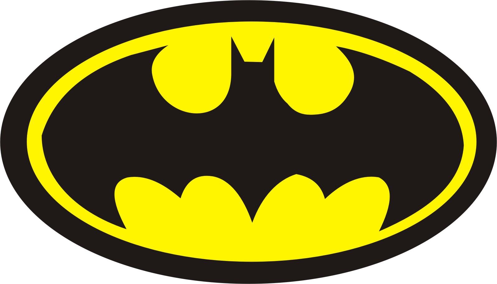 Batman clipart batman sign. Symbol outline free download