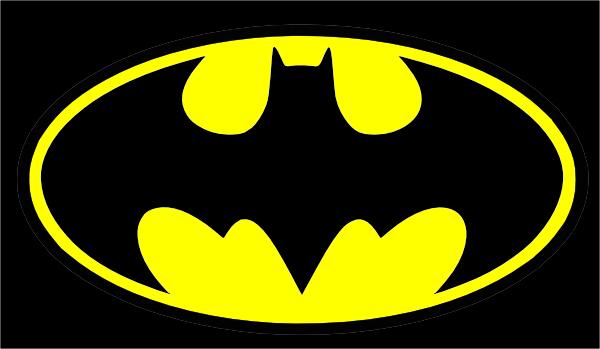Batman clipart batman sign. Small