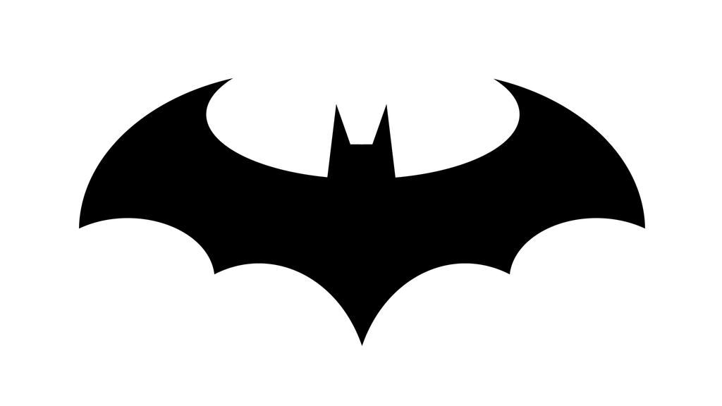 Logo only by deathonabun. Batman clipart batman sign