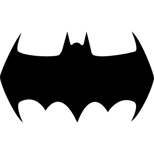 Batman clipart batman silhouette. Variant icons free download