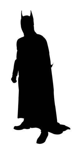 Batman clipart batman silhouette. Decal sticker