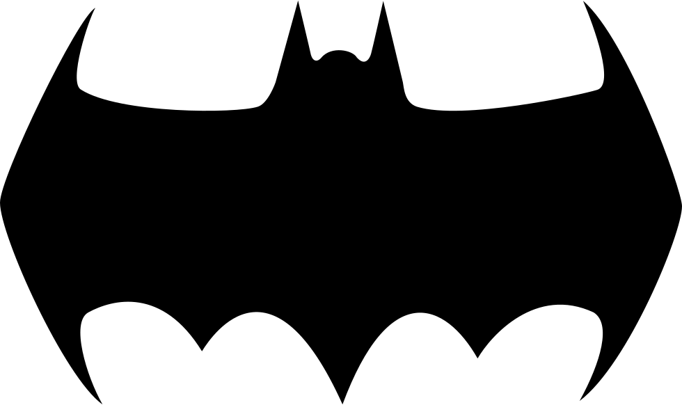 Mask clipart bat. Batman logo silhouette at