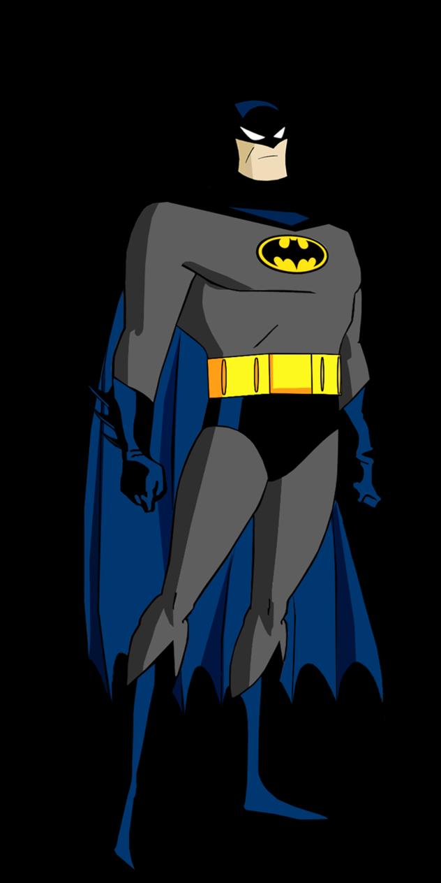 Batman clipart batman the animated series. From by alexbadass on