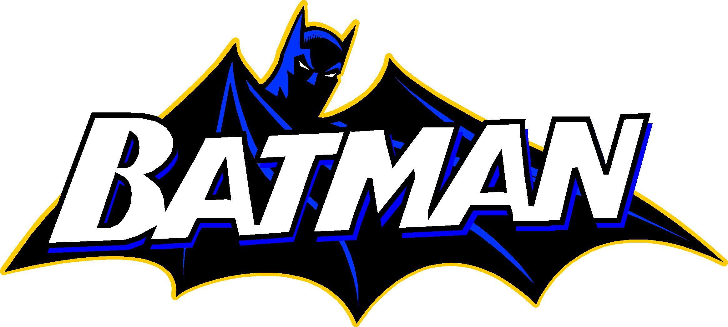 Free logo vector download. Batman clipart batman word
