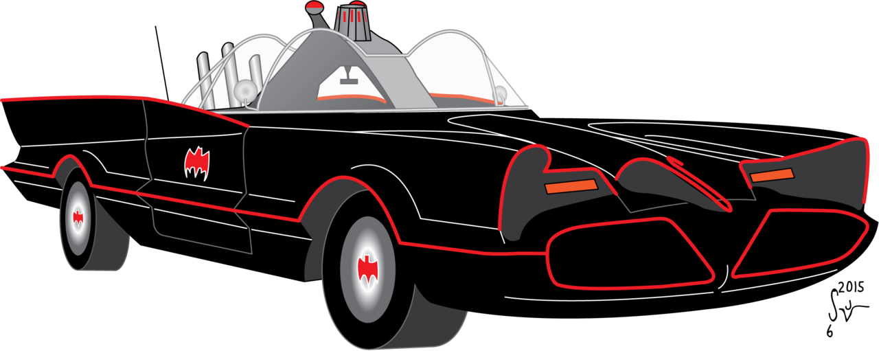 Tv series by sjvernon. Batman clipart batmobile