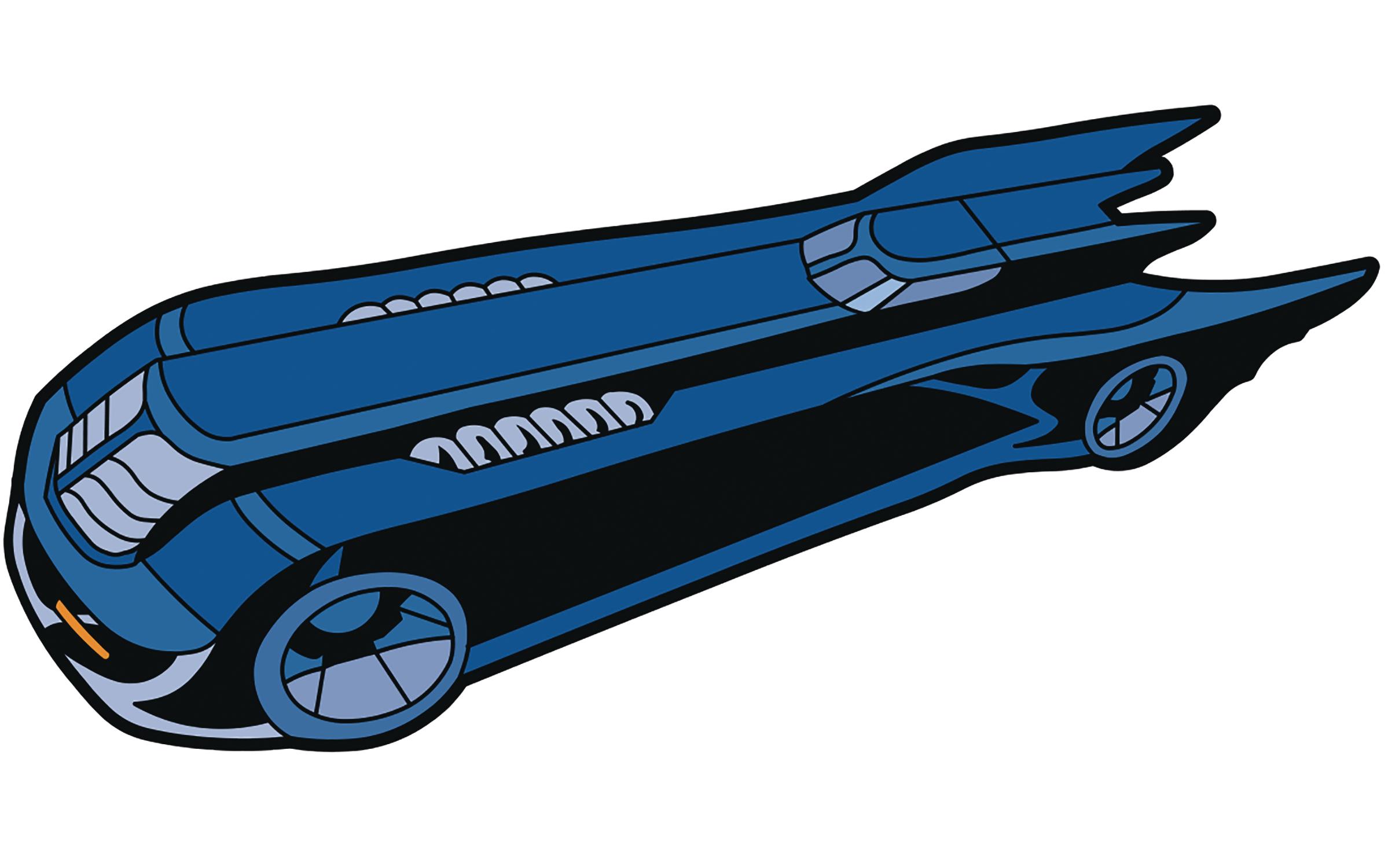 Dec animated series magnet. Batman clipart batmobile