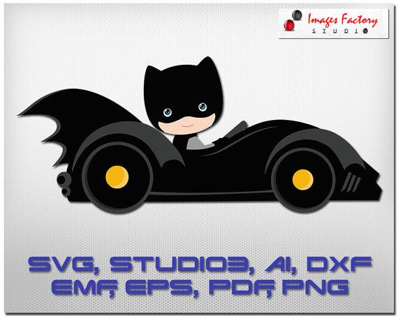 Batman clipart batmobile. Cuttable cricut design space