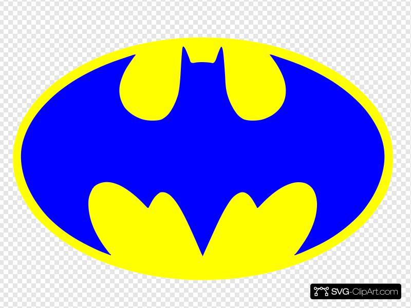 Batman clipart blue batman. Logo clip art icon