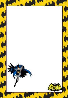 Batman clipart border. Printable superhero free gif
