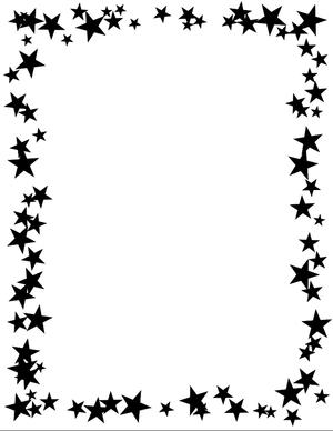 Batman clipart border. Star clip art panda