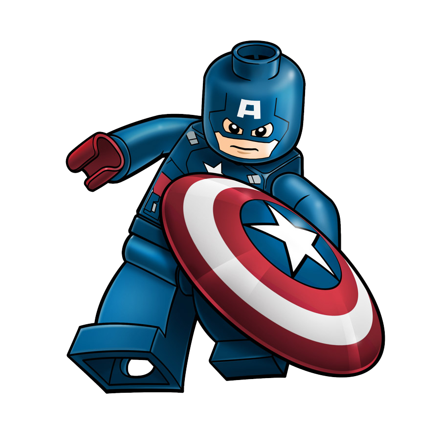 Captain america hd clip. Deadpool clipart spiderman lego