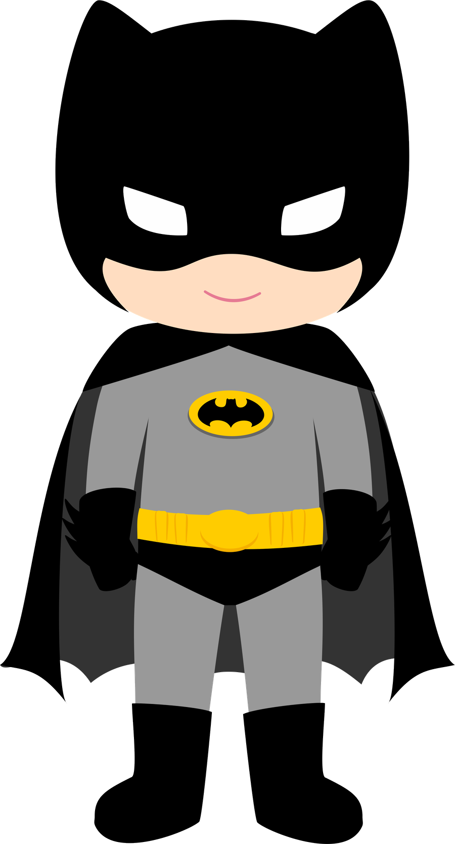 Kind clipart kids cartoon. Batman pinteres more