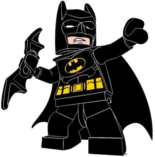 Batman the lego movie. Cartoon clipart classroom