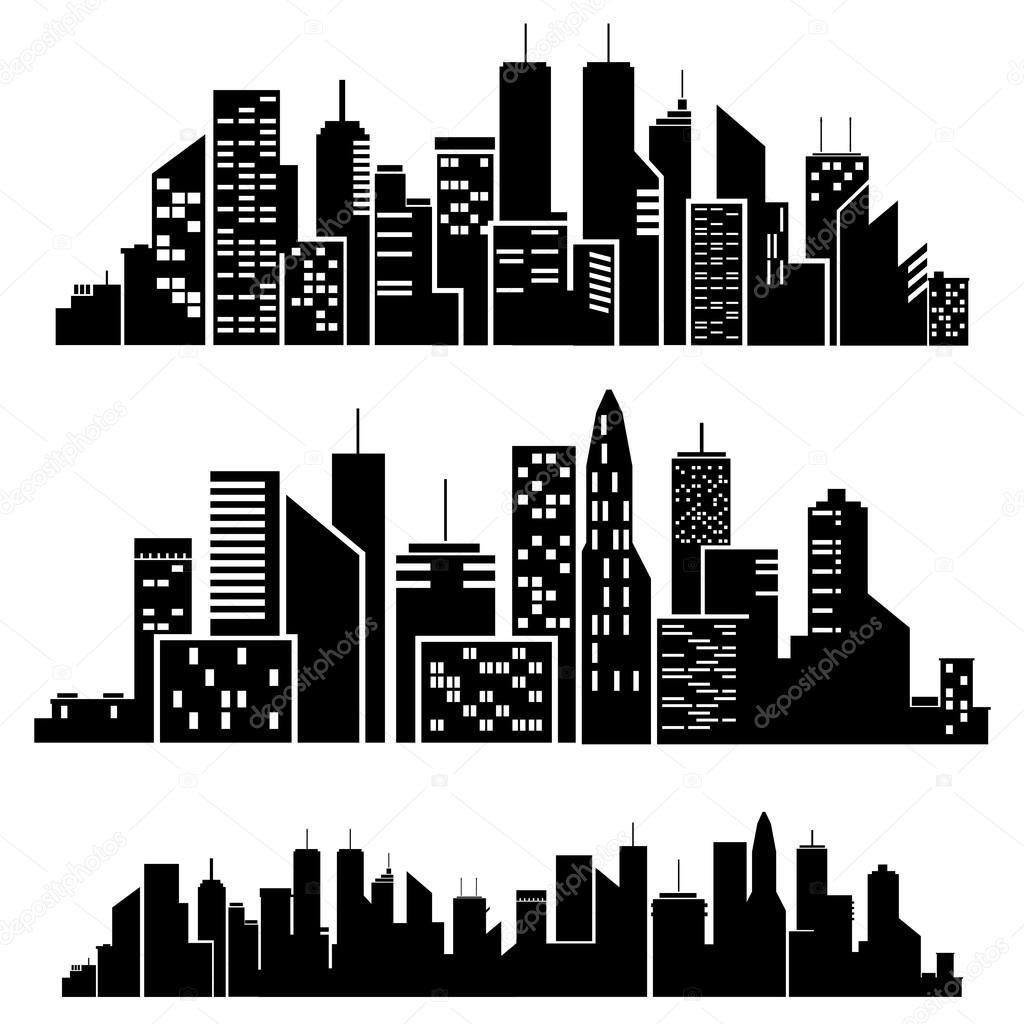 Image result for city. Batman clipart cityscape