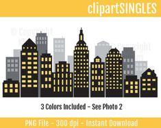 Batman clipart cityscape. Free printable download for