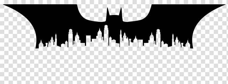 Batman clipart cityscape. Joker silhouette gotham city