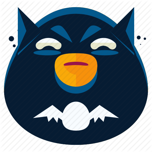 Emoticons vol by roundicons. Batman clipart emoji