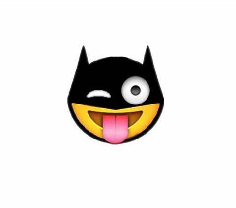 Shared by on we. Batman clipart emoji