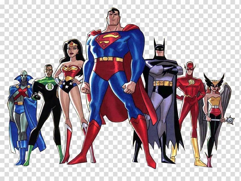 Cyborg aquaman superman flash. Batman clipart justice league