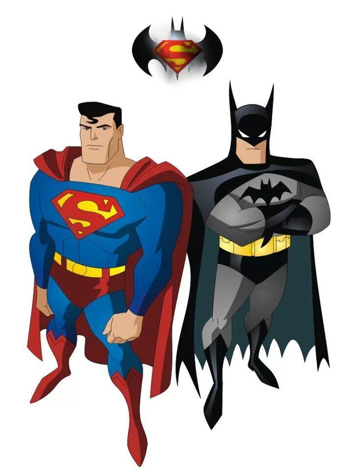 Superman vs image group. Batman clipart justice league