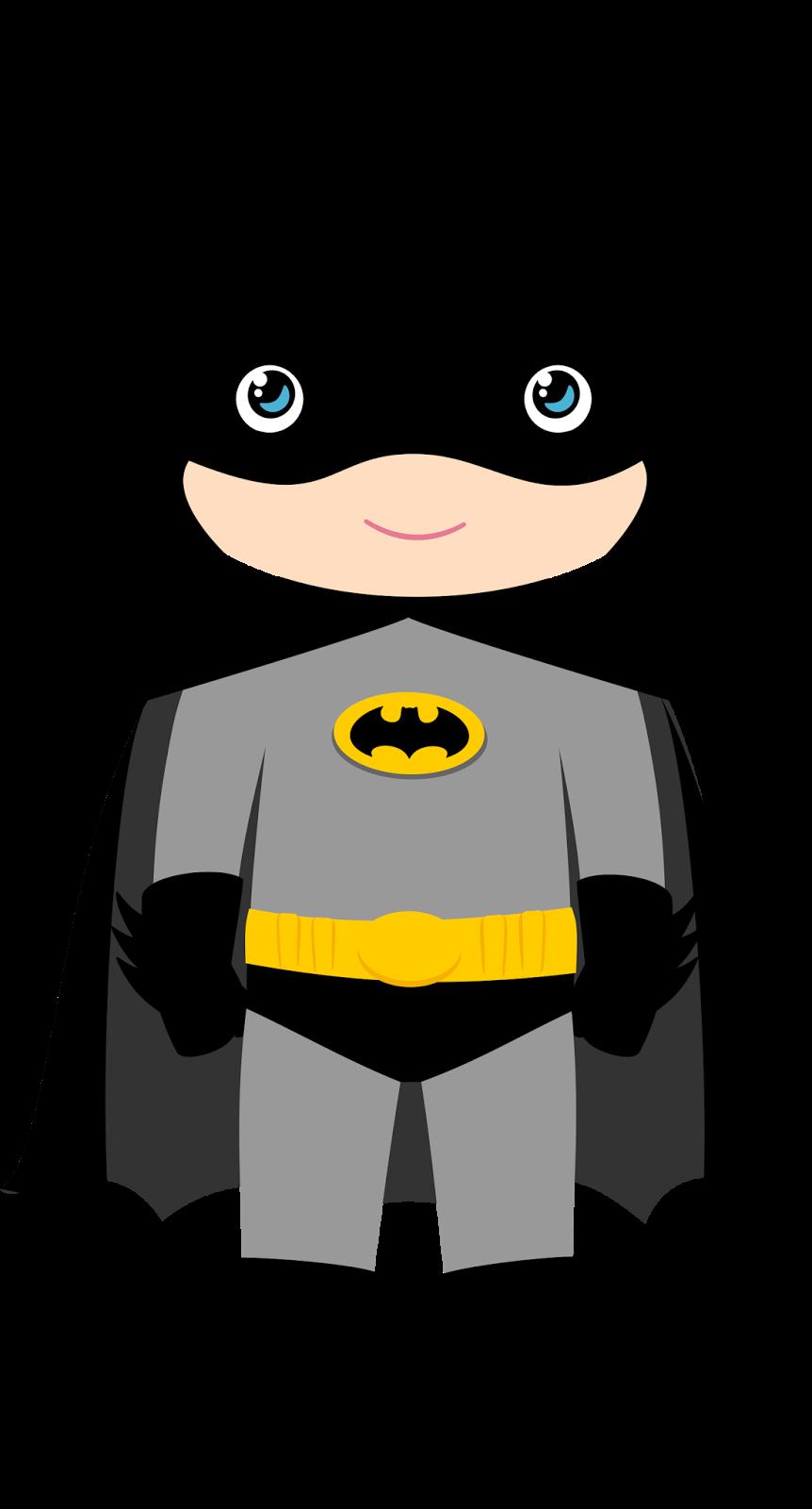 Characters of batman kids. Costume clipart character
