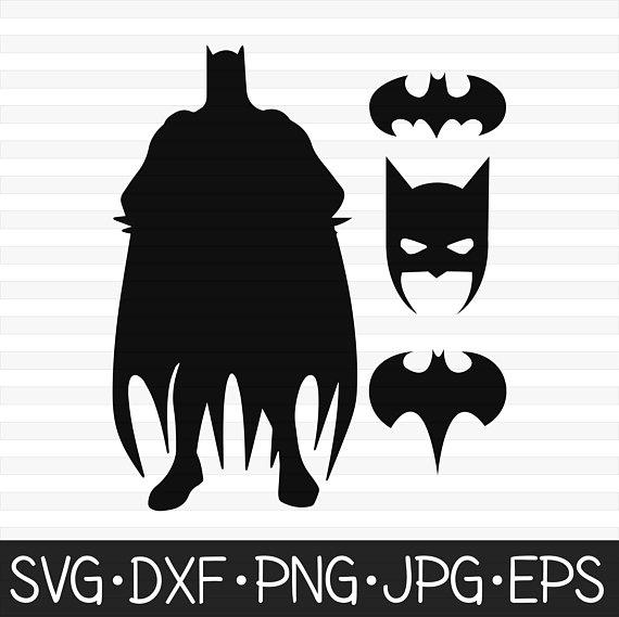 Svg digital clip art. Batman clipart vector
