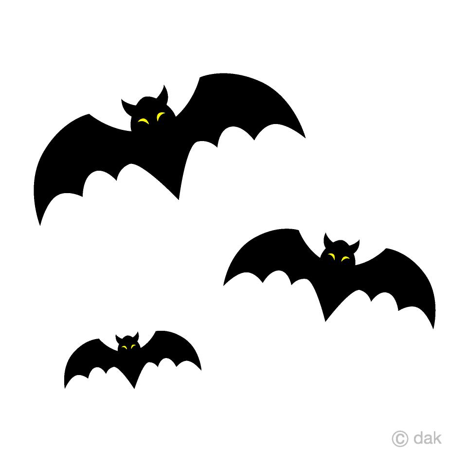 Bats clipart. Free picture illustoon