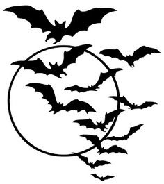Nightmare pencil and in. Bats clipart bat cave