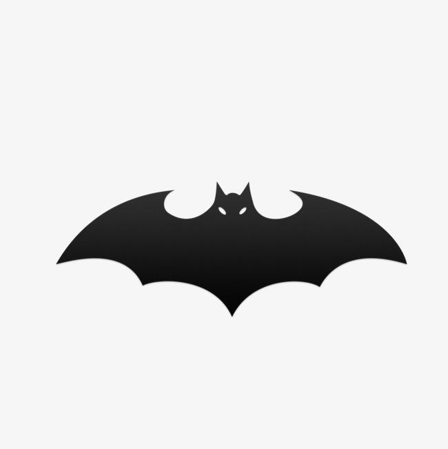 Bats clipart batman. Bat black hand painted